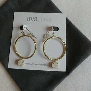Rocksbox Ava Rose Lowell Hoops